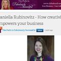 Fabulously Successful Daniella Rubinovitz
